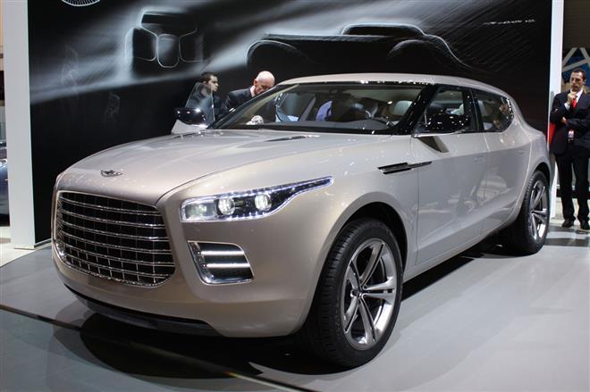 Aston Martin планирует выпускать под брендом Lagonda три новых модели