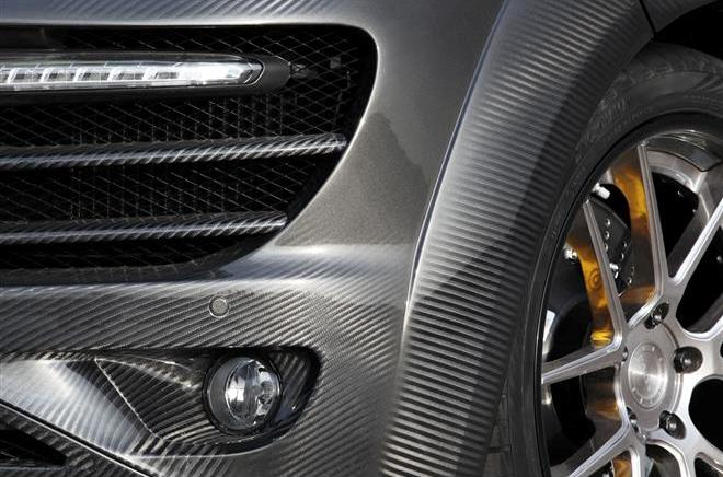 В Москве покажут Porsche Cayenne Vantage 2 Carbon Edition