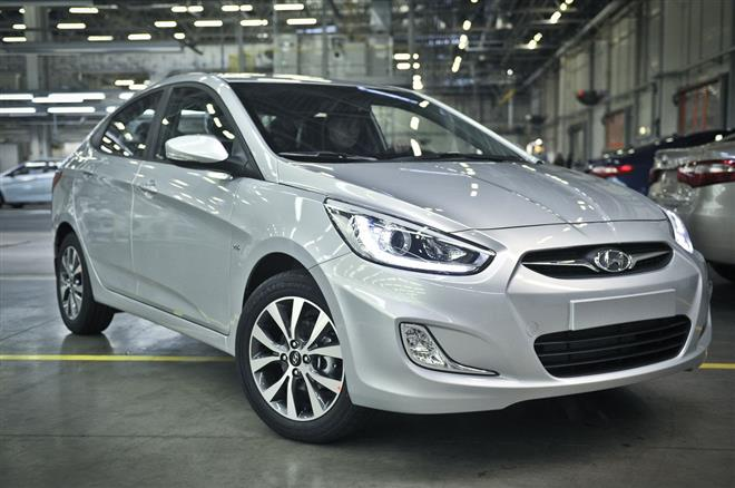 Hyundai Solaris питерской сборки появился на российском рынке