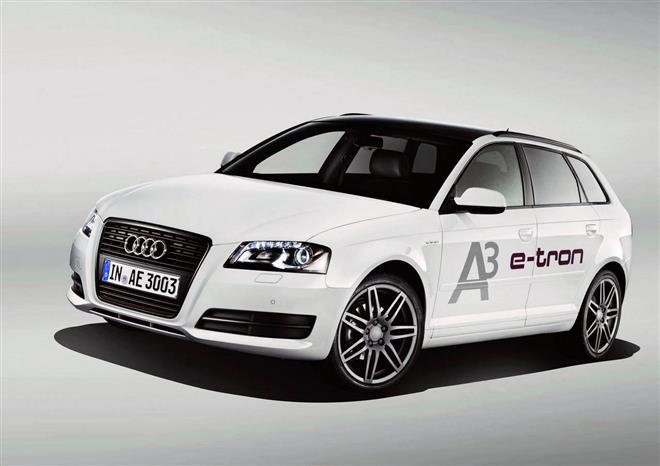 Электрический хэтчбэк Audi A3 e-tron
