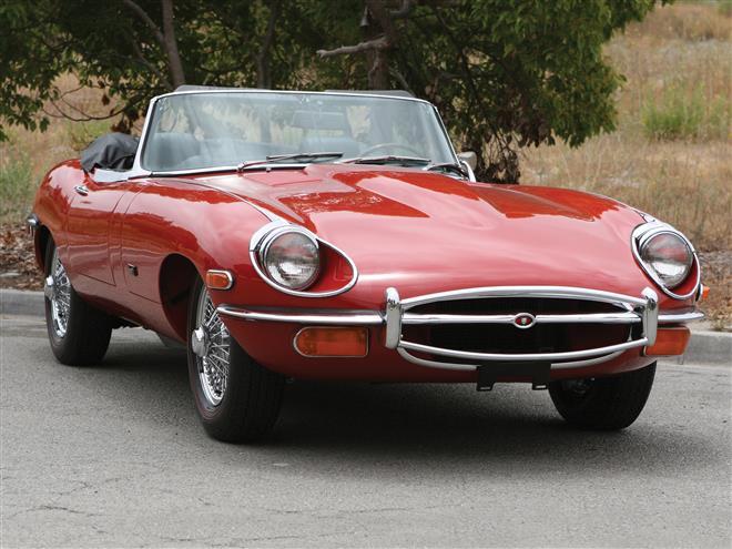 Jaguar E-Type подвергся тюнингу