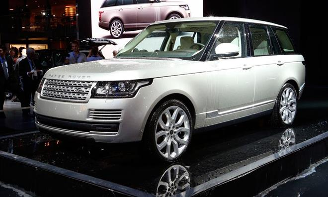 Гибрид Range Rover Range_e - первый и единственный в своем роде