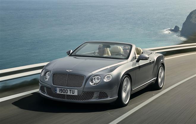 Bentley обновляет линейку своей продукции
