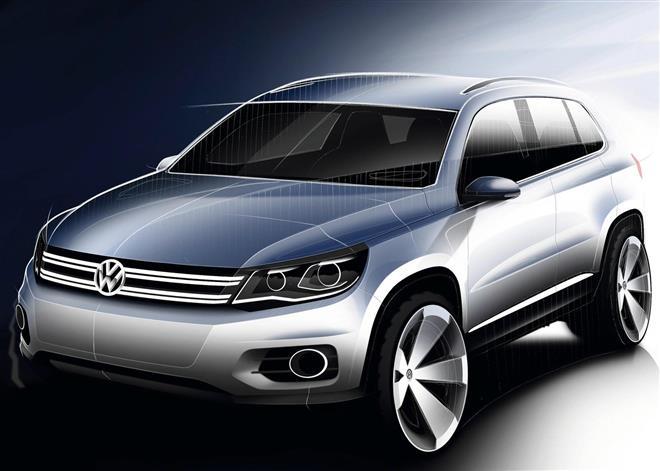 Volkswagen Tiguan появится в 2015 году