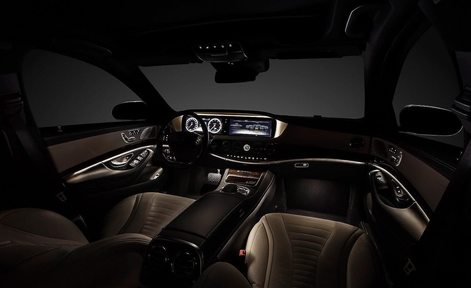 Новый Mercedes Benz S-класс: первые фото