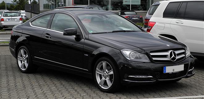 Mercedes-Benz C-класса представлен в версии купе