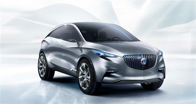 Концепт-кроссовер Buick Envision SUV Concept 2011 опережает свое время