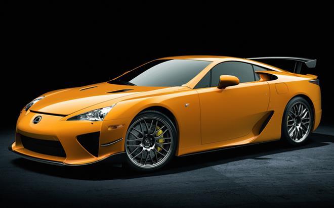Toyota Lexus представила эксклюзивный вариант спорткара LFA