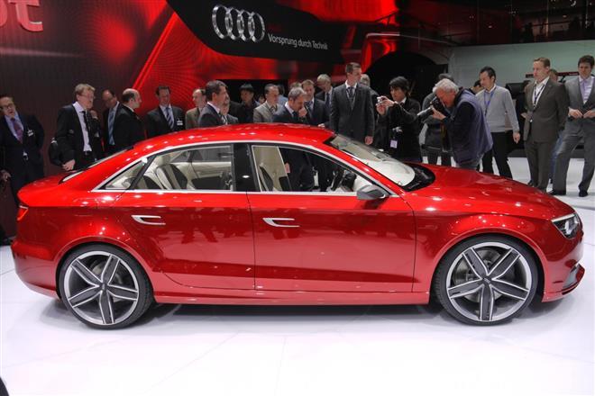 Audi A3 в четырех вариантах