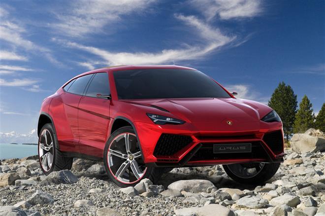 Lamborghini зарегистрировал марку Deimos для будущего внедорожника