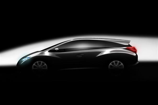 Новые тизеры Honda Civic 2012