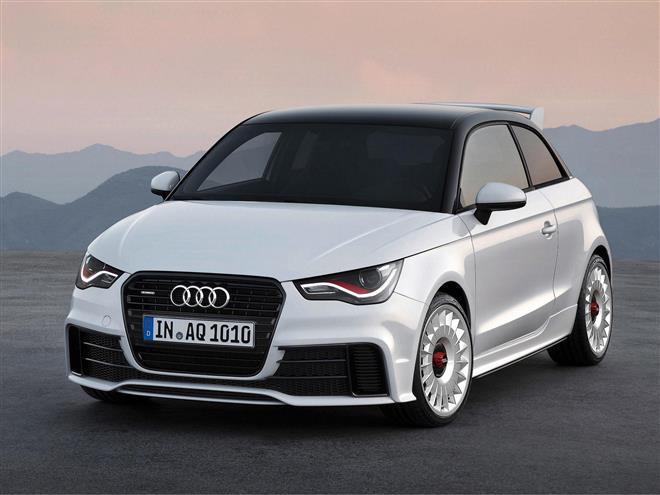 Вышел Audi A1 quattro с полным приводом