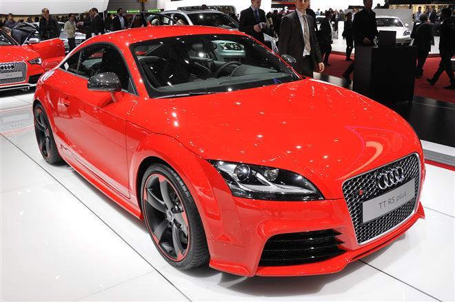 Audi TT RS Plus 2012 модельного года показали в Женеве