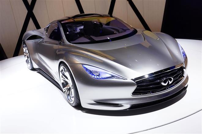 Электрический спортивный концепт-кар Infiniti Emerge-E разрабатывали в Европе