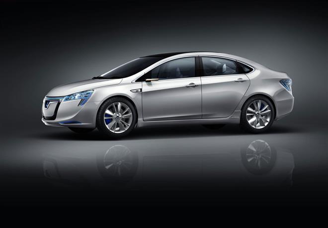 Чудо-электромобиль Luxgen Neora Concept