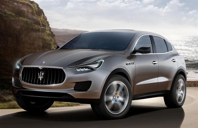 Maserati Kubang будет переименован