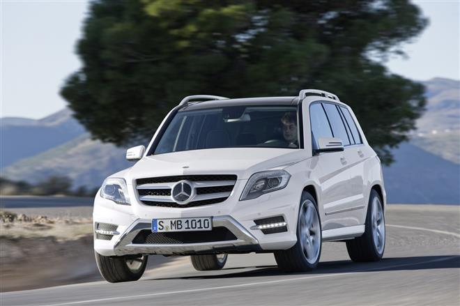 Папарацци опять сфотографировали новую модель Mercedes-Benz GLK 2013