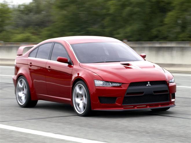 Mitsubishi Lancer Evolution станет гибридом