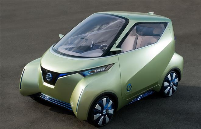 Nissan Pivo 3 может парковаться автоматически