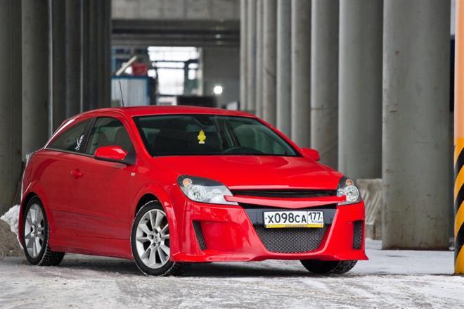 Opel Astra GTC прошла тюнинг