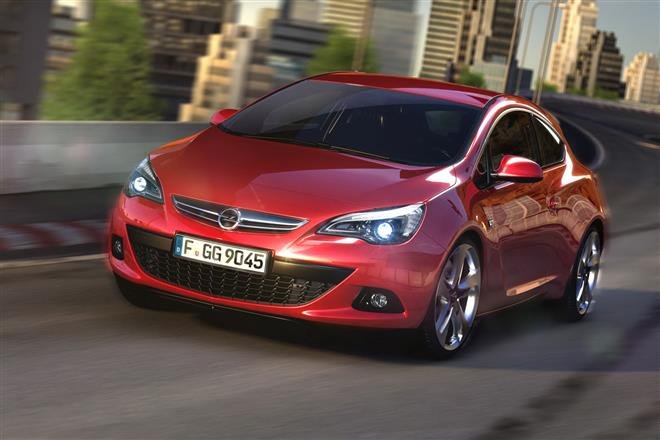 Трехдверный хэтчбек Astra GTC будет продаваться в России