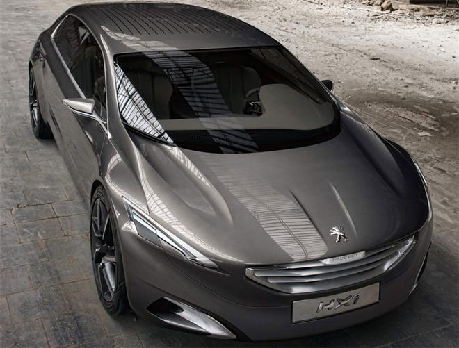 Пежо разработал потрясающий футуристический дизайн для своего концепта Peugeot HX1