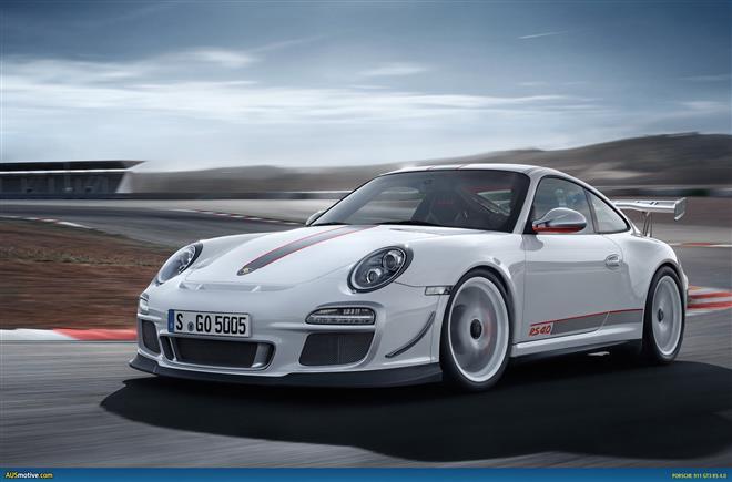 Porsche 911 GT3 RS 4.0 показал блистательные результаты в Нюрбургринге