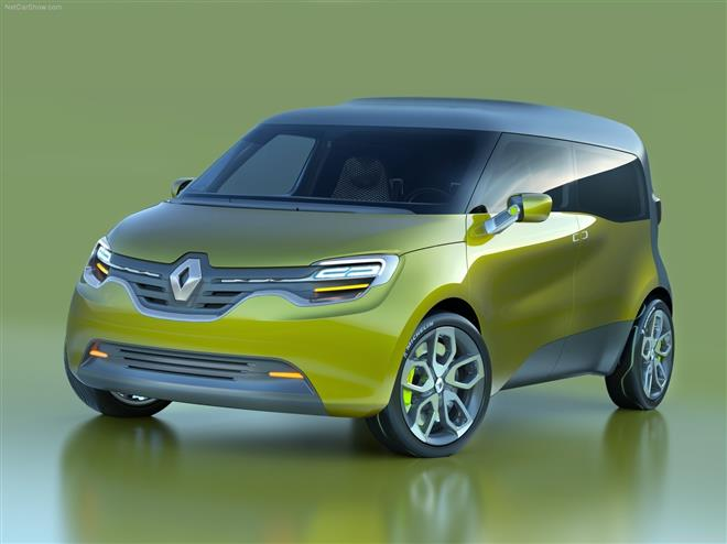 Renault Frendzy – причудливый сплав инноваций и смелого внешнего облика