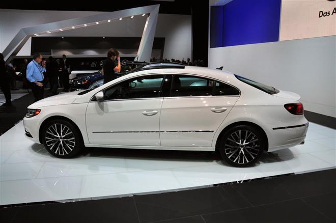 Volkswagen CC 2013 дебютировал на Лос-Анджелесском автошоу
