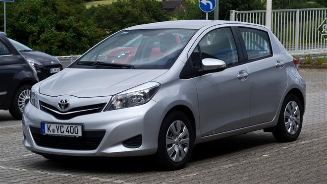 Toyota Yaris 2012 стала напоминать европейские автомобили