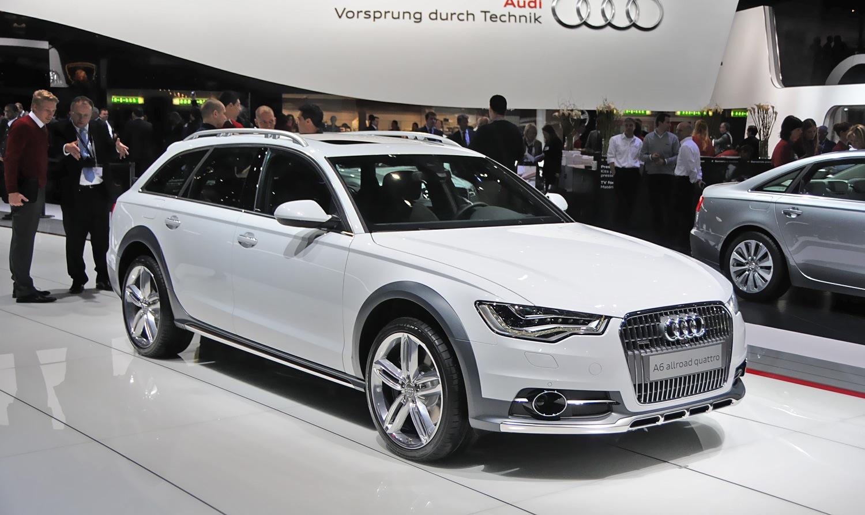 Новый A6 Allroad от Audi представят во Франкфурте