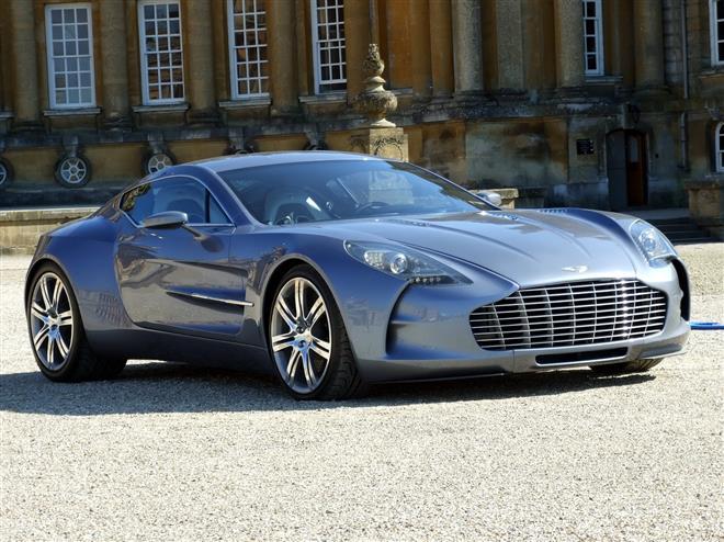 Aston Martin One-77 существенно улучшил показатели продаж