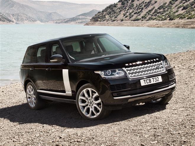 Range Rover появился на шпионских фото