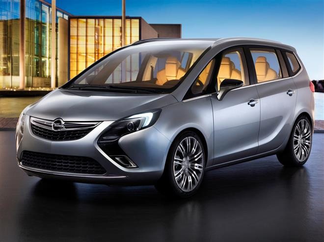 Объявлены цены на новый Opel Zafira Tourer