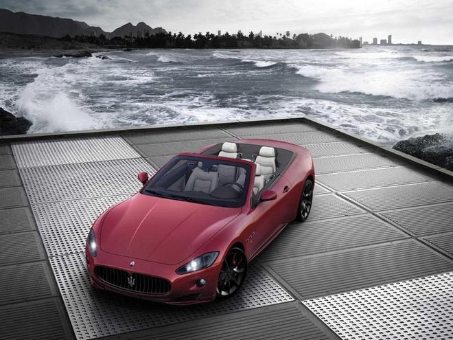 Итальянцы собираются в Женеву со спорткаром Maserati GranCabrio Sport