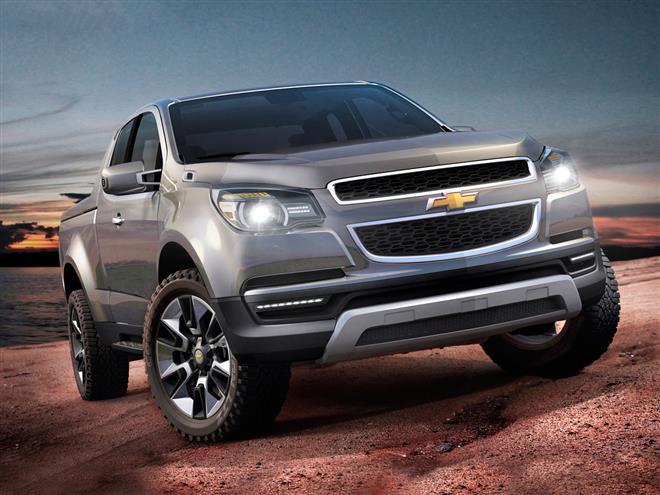 Chevrolet показала раллийную версию пикапа Colorado