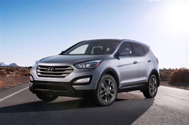 Внедорожник Hyundai Santa-Fe 2013 опять сменил дизайн