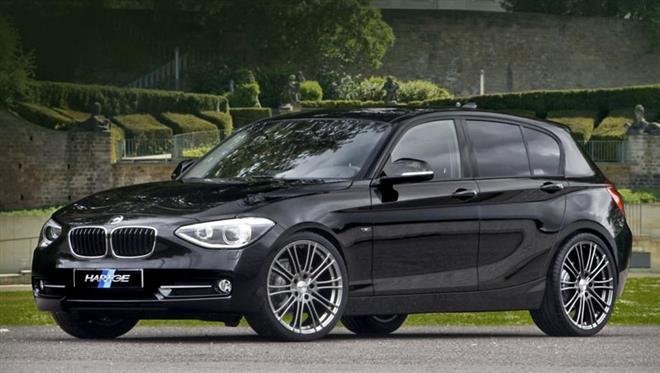BMW 1й серии F20 прошел тюнинг