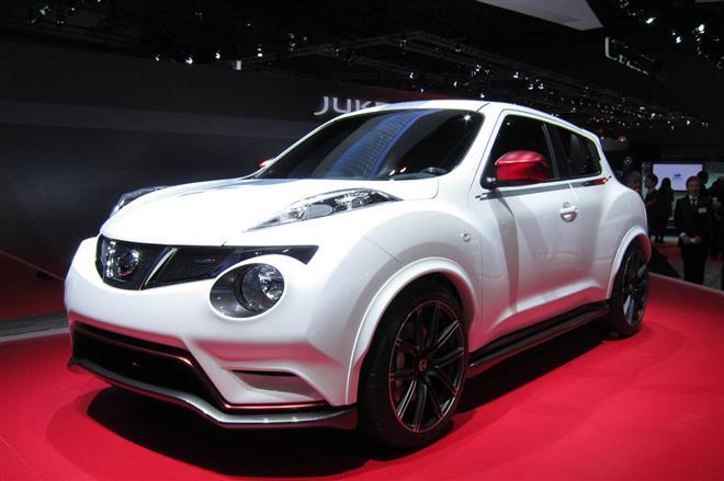 Juke Nismo - высокопроизводительный автомобиль от Nissan