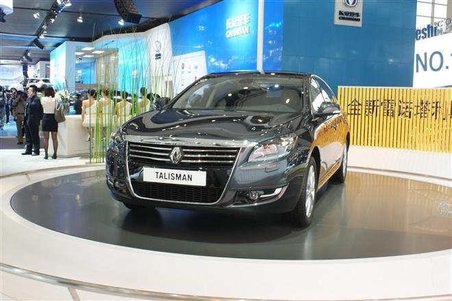 Седан Renault Talisman покажут в Пекине