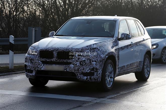 Появились первые шпионские фотографии BMW X5 F15 2014