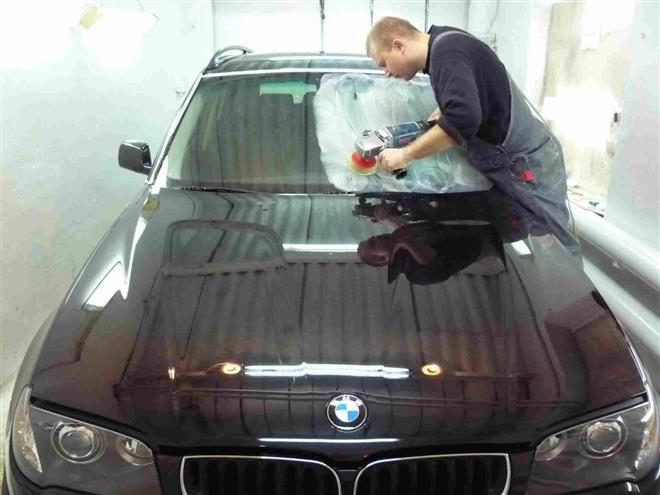 Полировка стекла автомобиля своими руками