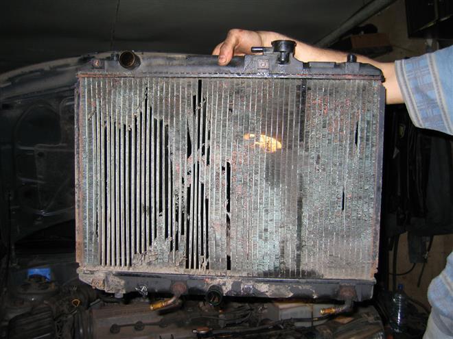 Ремонт радиаторов охлаждения своими руками