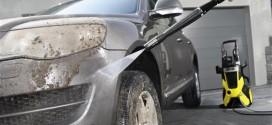 Как правильно мыть машину керхером