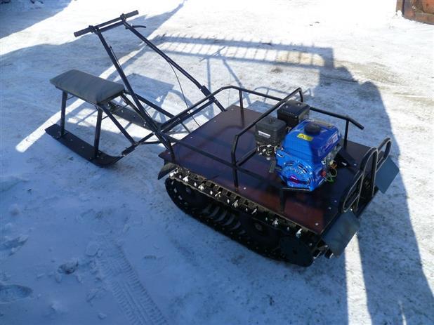Снегоход и мотобуксировщик  – лучший транспорт для суровой русской зимы