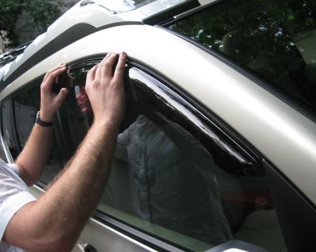 Зачем нужно покупать дефлекторы на окна?